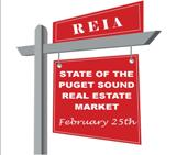 REIA Main Meeting on the State of the Puget Sound Real Estate Market with Todd Britsch on Monday, February 25, 2019