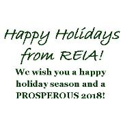 REIA wishes you Happy Holidays and a Prosperous 2018!