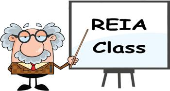 REIA Class on THURSDAY, September 06, 2018